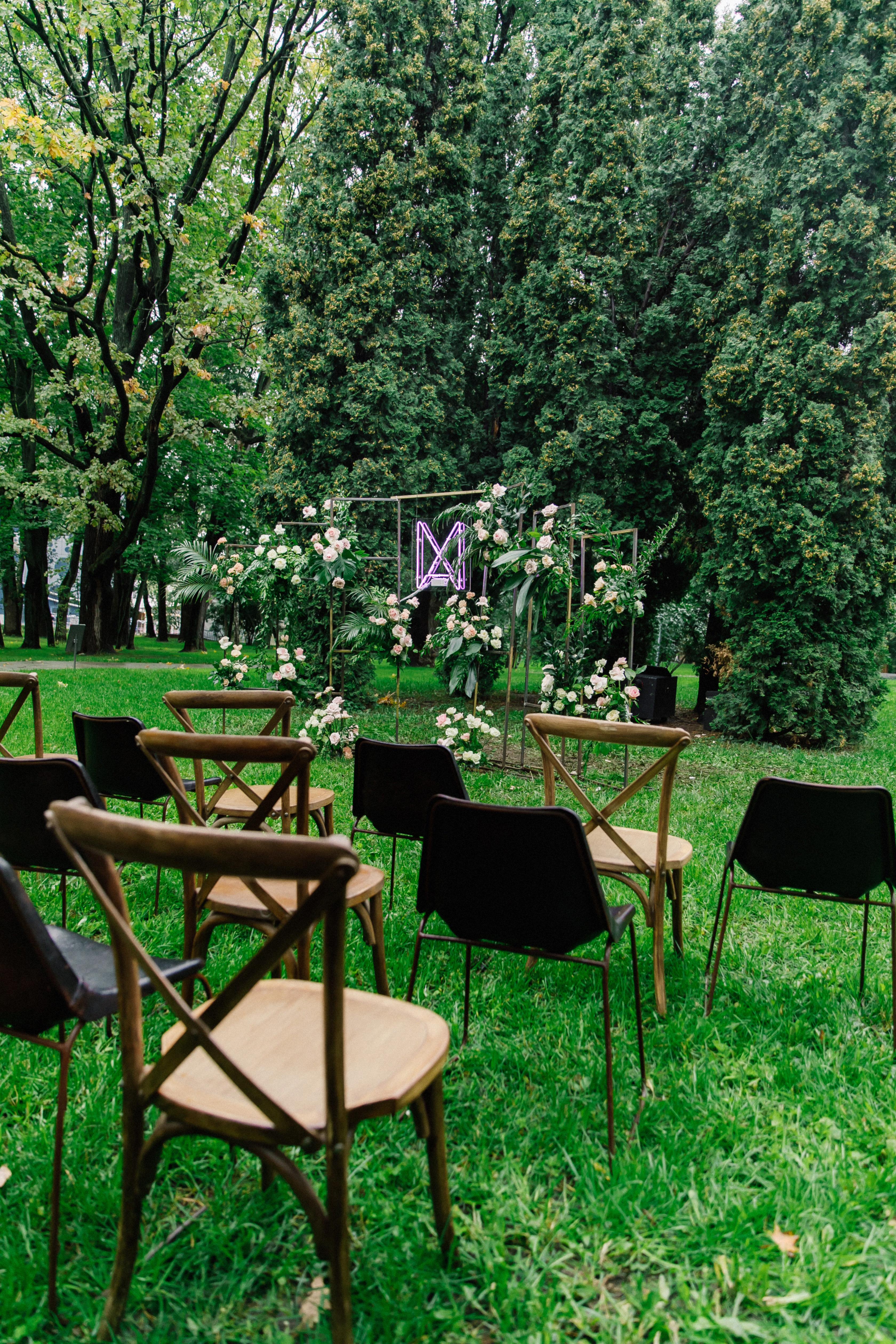 Свадьба в ресторане Оттепель. Церемония.