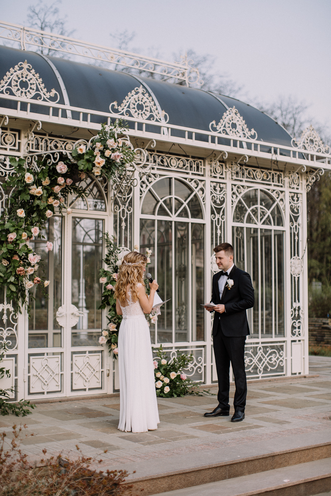 Вилла Ротонда. Свадебная церемония.