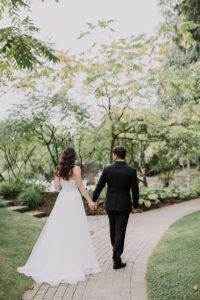 и Настя 217 — копия Первая встреча жениха и невесты в свадебный день.