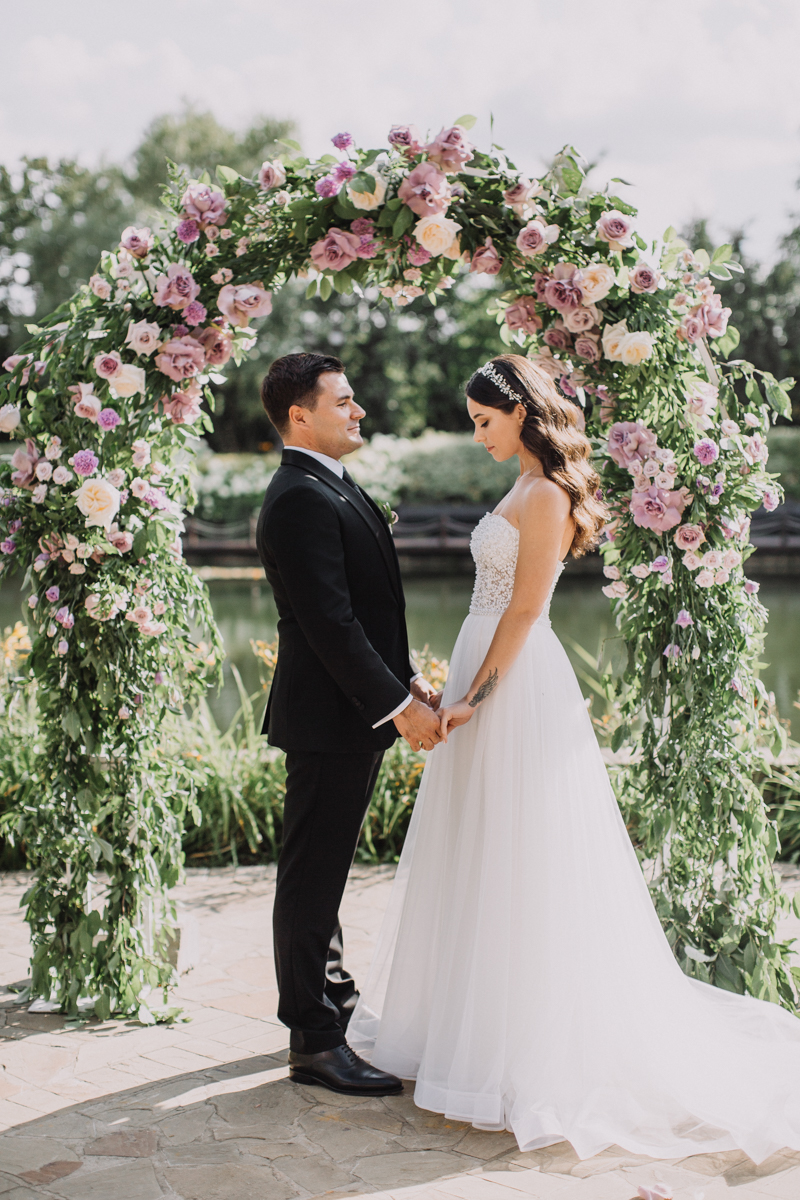 Свадебная церемония. Ресторан Жан-Реми