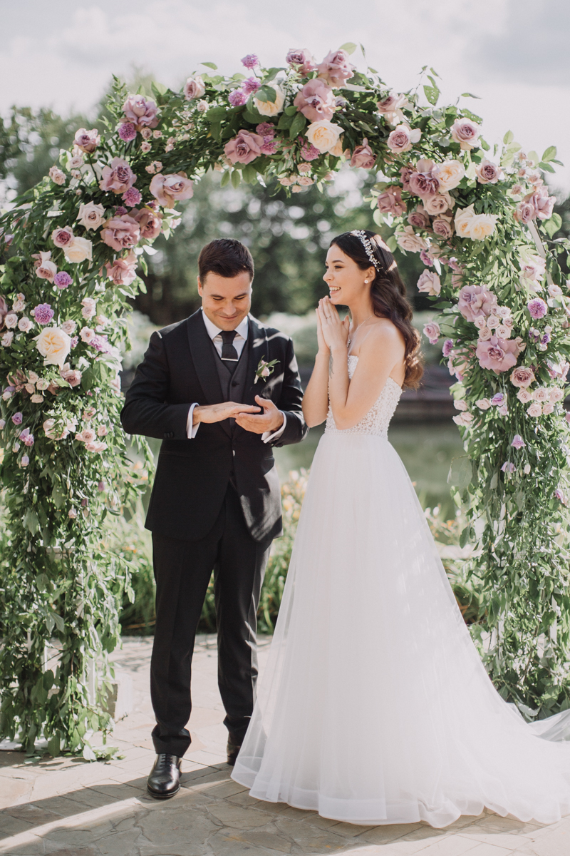 Свадебная церемония. Свадьба в Жан-Реми