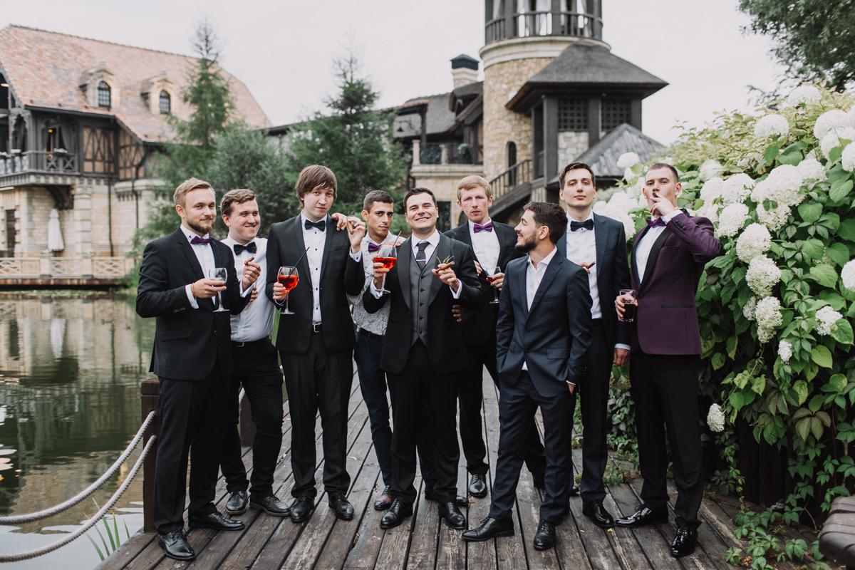 Свадьба в Жан-Реми. Друзья жениха.