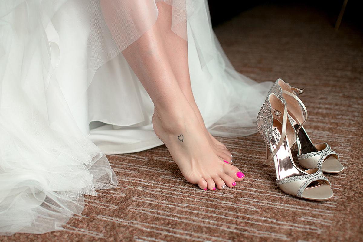 Свадебные туфли Badgley Mischka