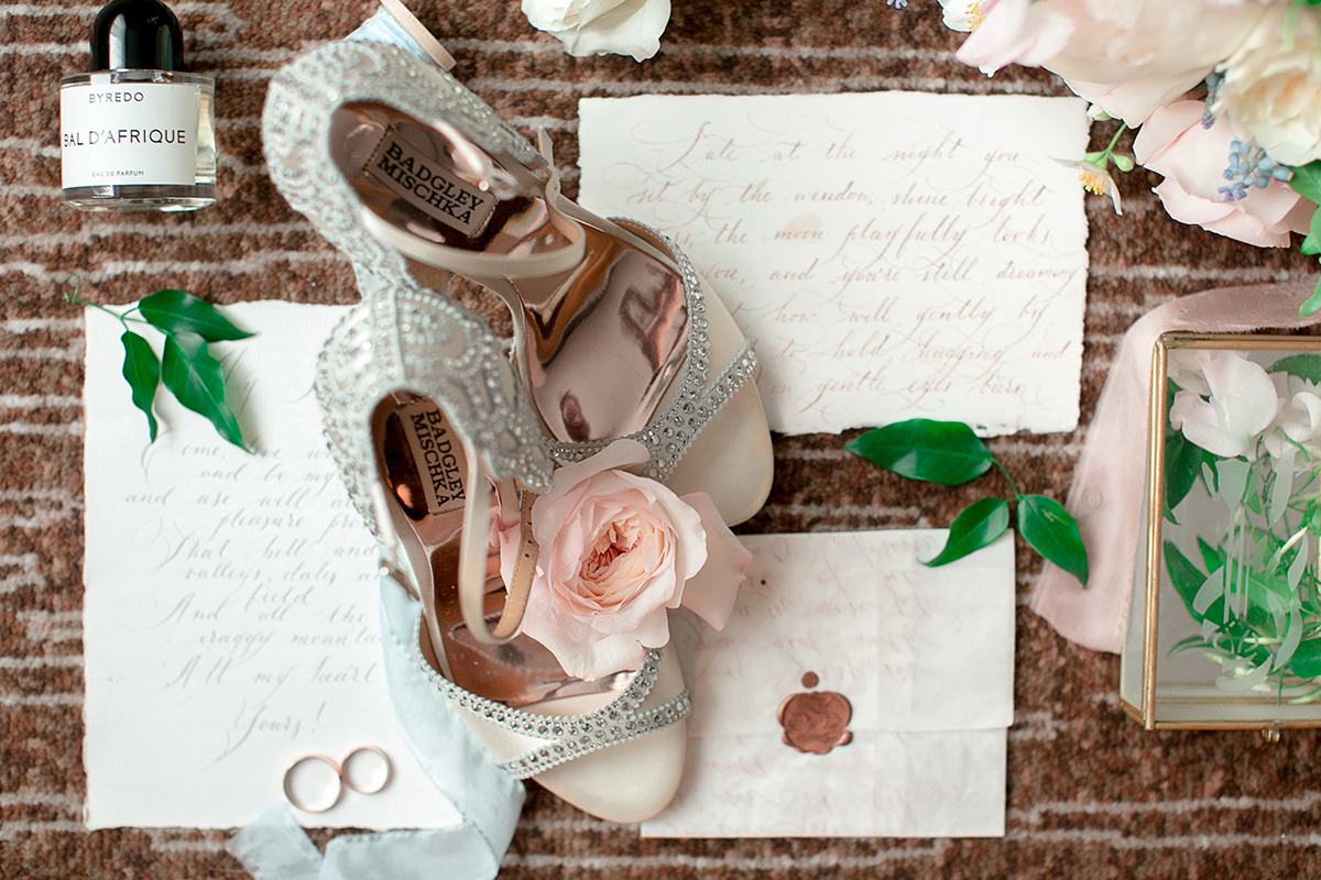 Туфли на свадьбу Badgley Mischka