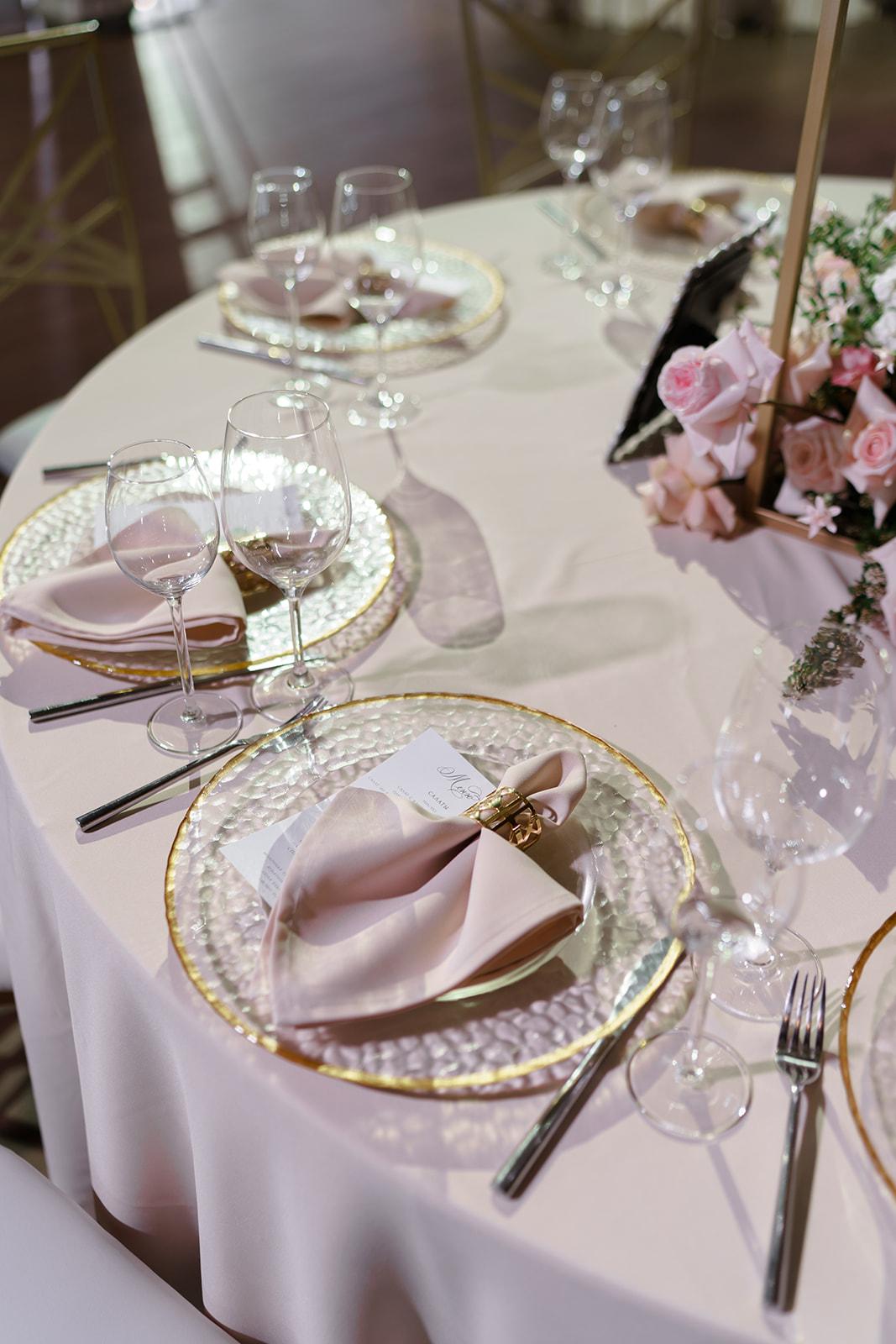 Сервировка на свадьбу