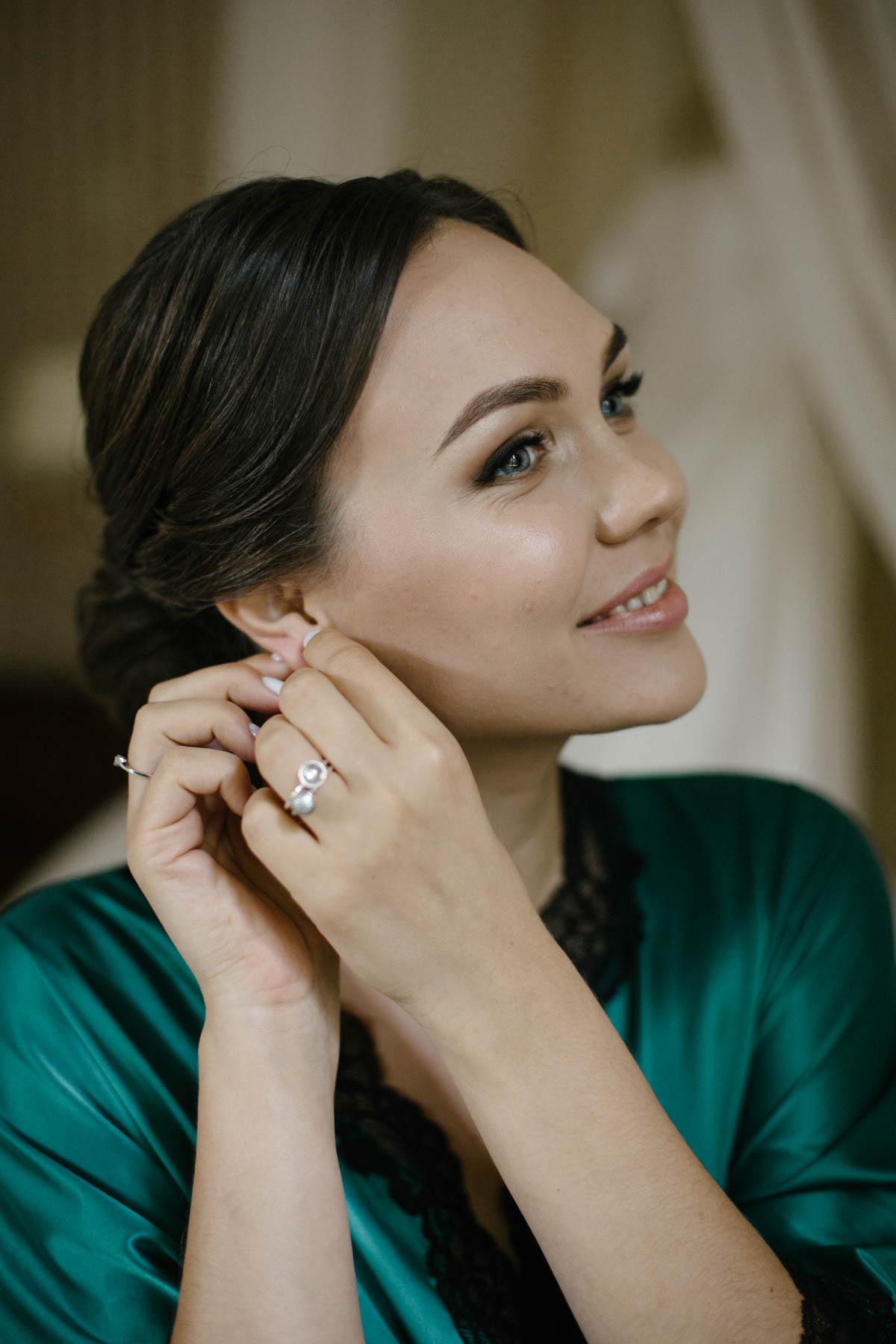 Сборы невесты. Свадебный стилист Татьяна Патеева