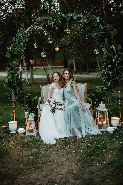 Оформление фотозоны на свадьбе