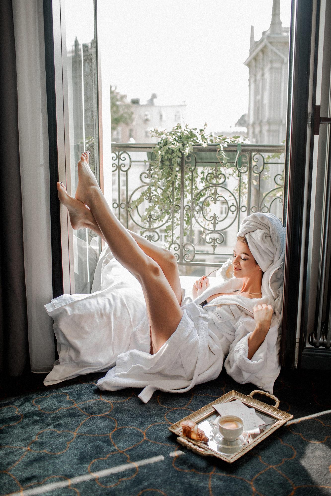 Утро невесты. Отель Hartwell.