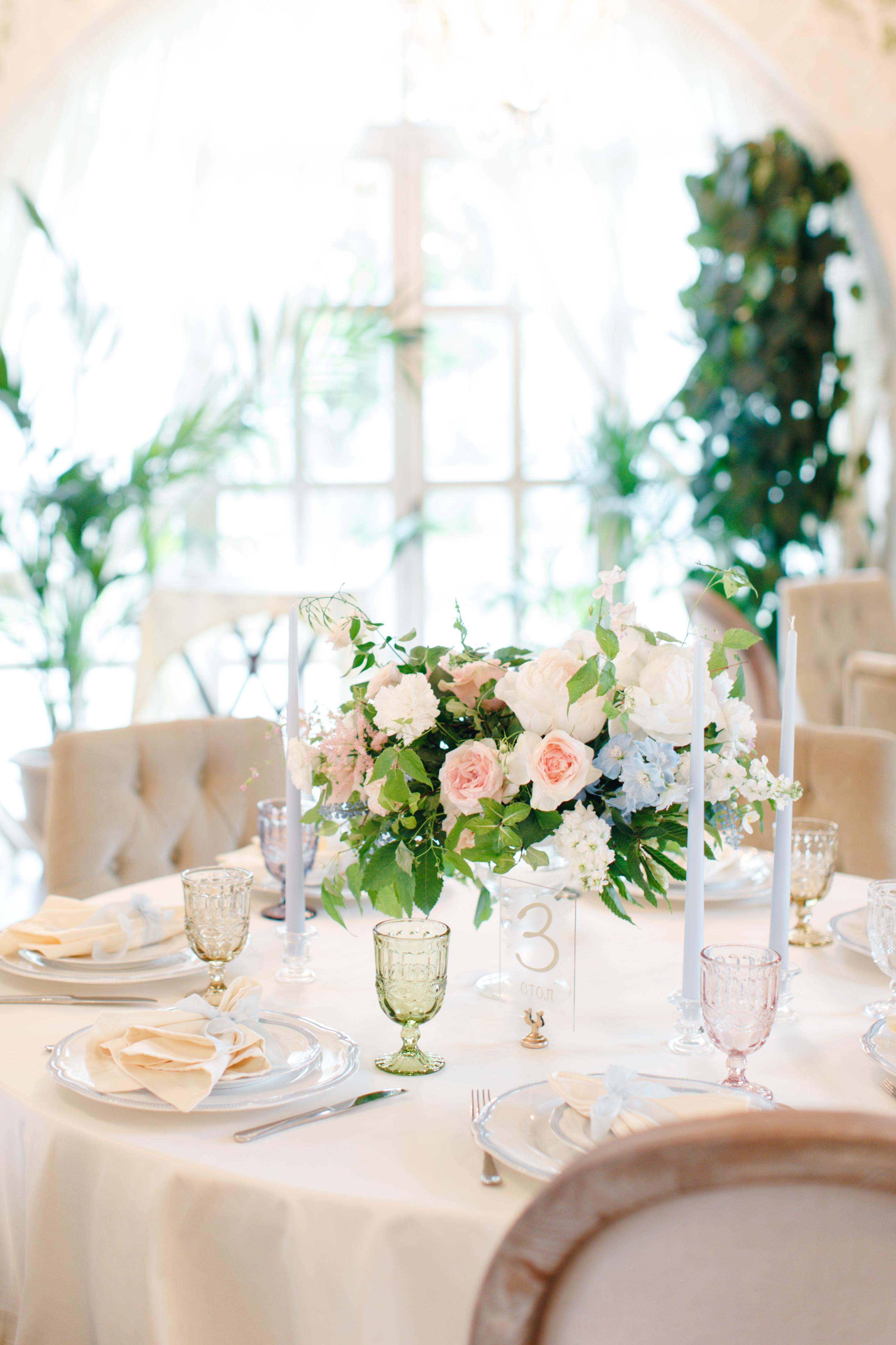 Свадьба в ресторане Московское небо