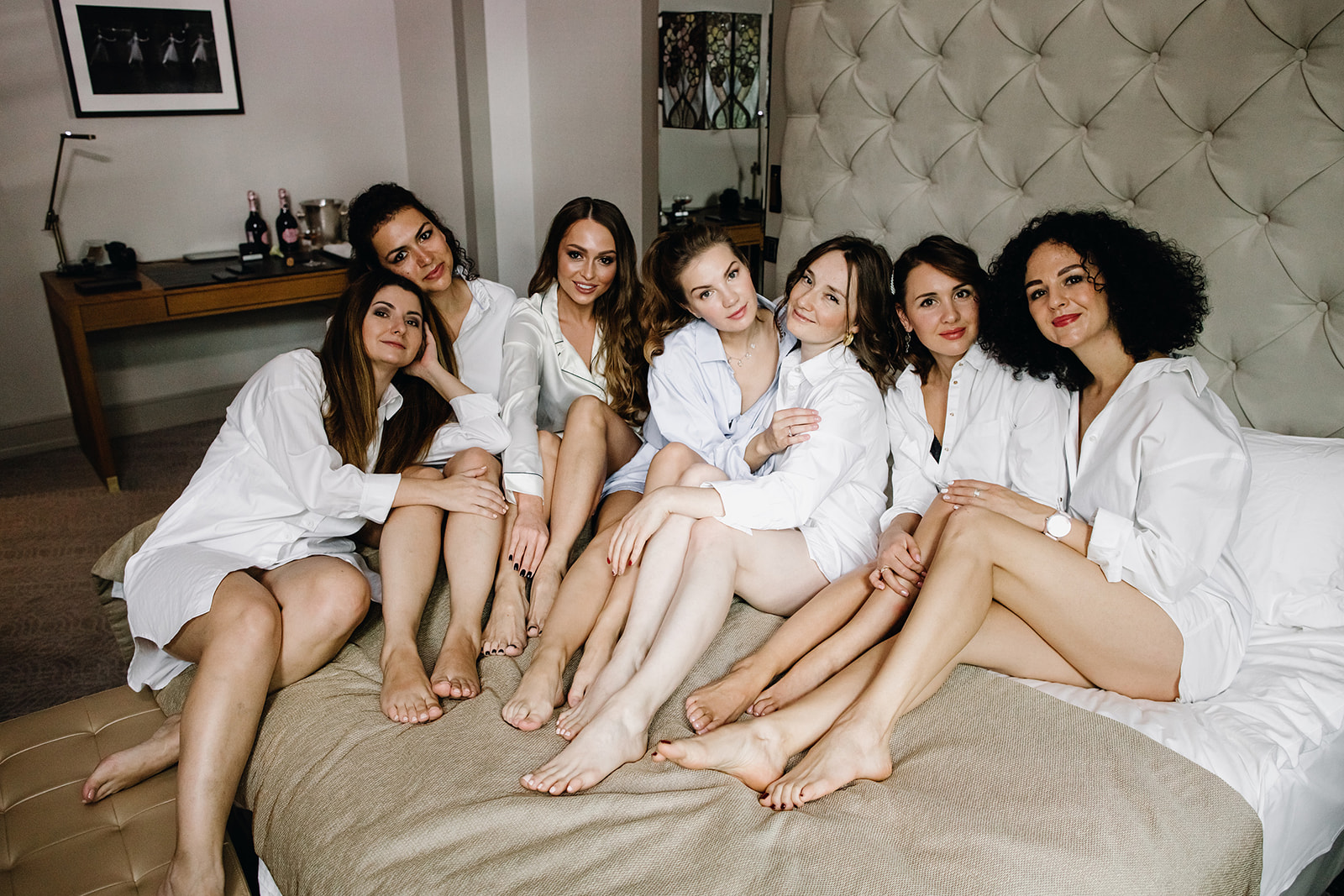 Утро невесты с подружками. Отель Метрополь