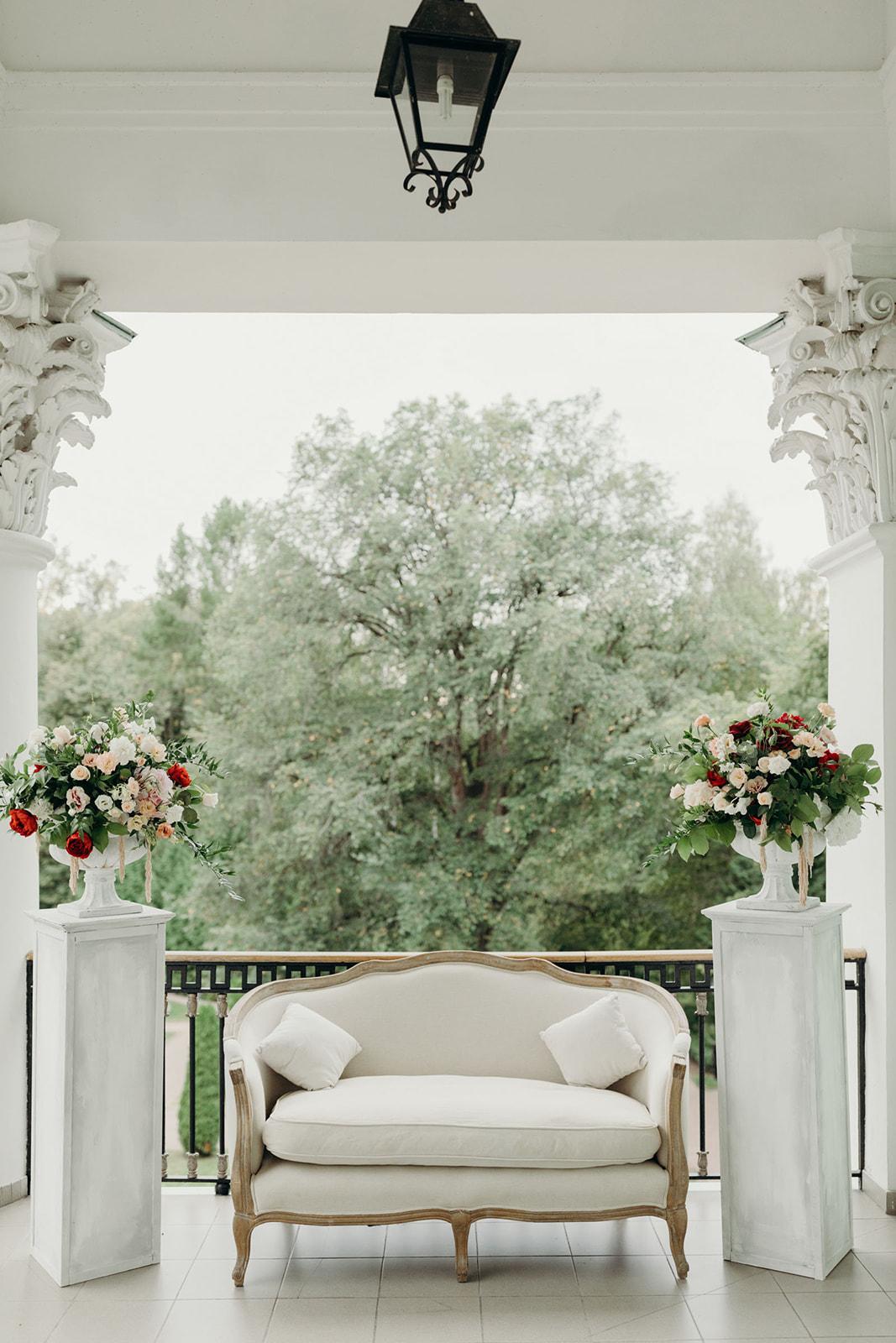 Фотозона на свадьбу. Парк-отель Морозовка