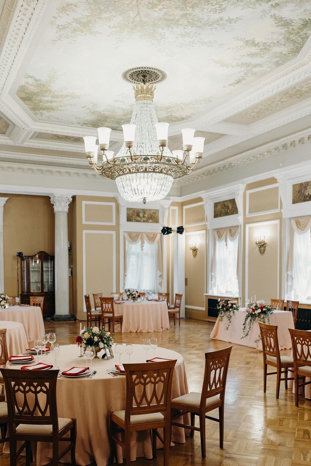 Свадьба в усадьбе Морозовка