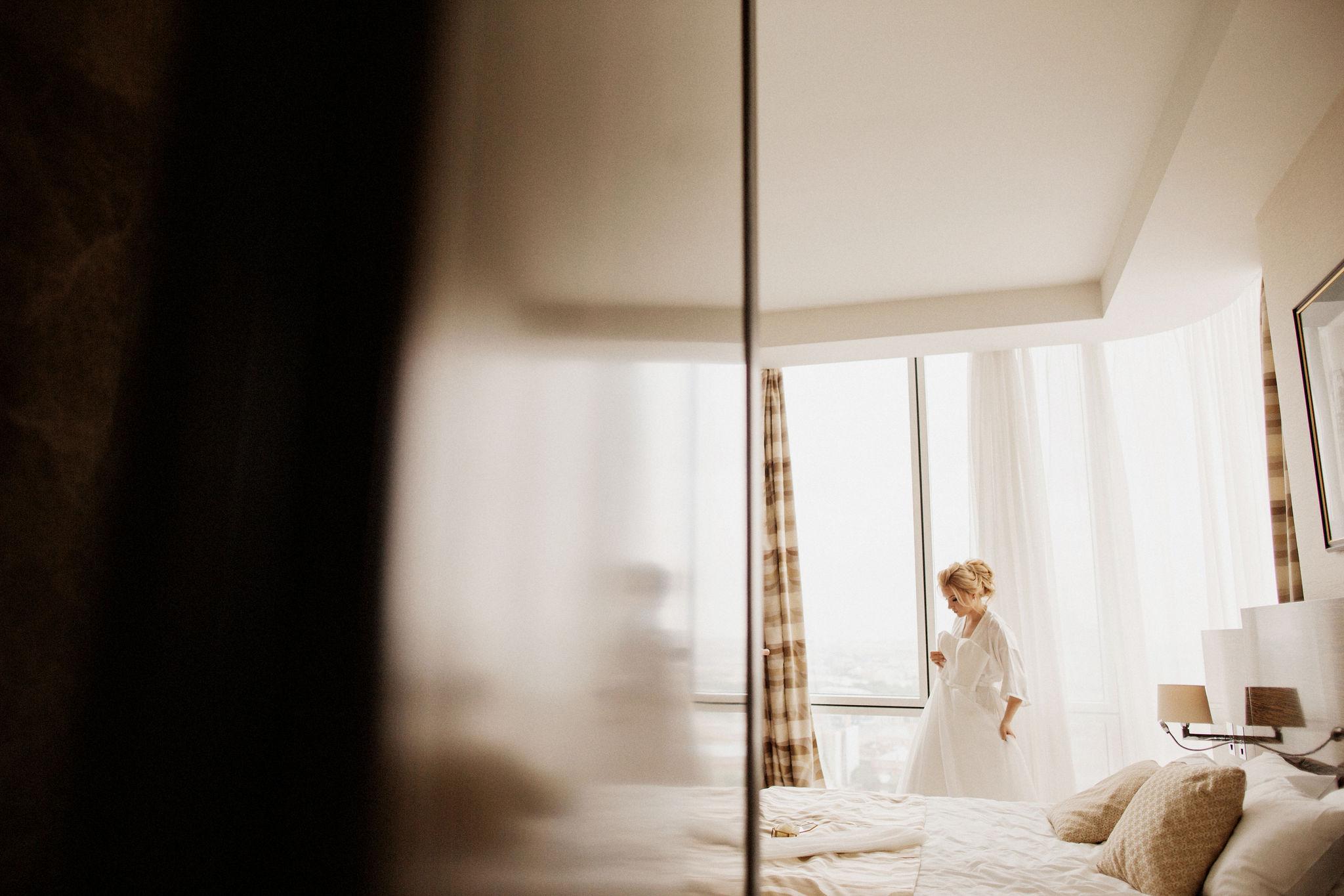 Отель для утра невесты