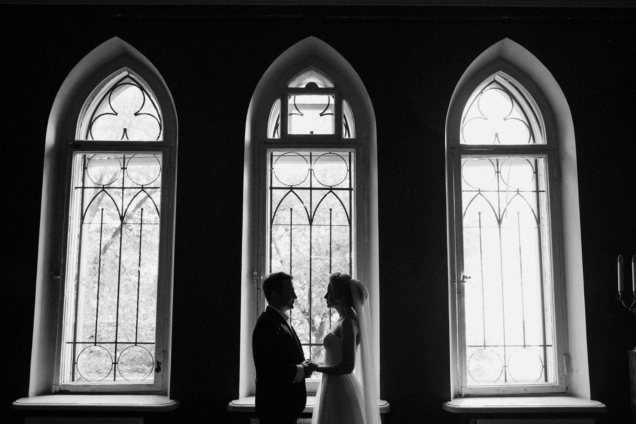 Свадьба в старинном особняке