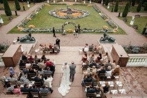 image 215 Первая встреча жениха и невесты в свадебный день.