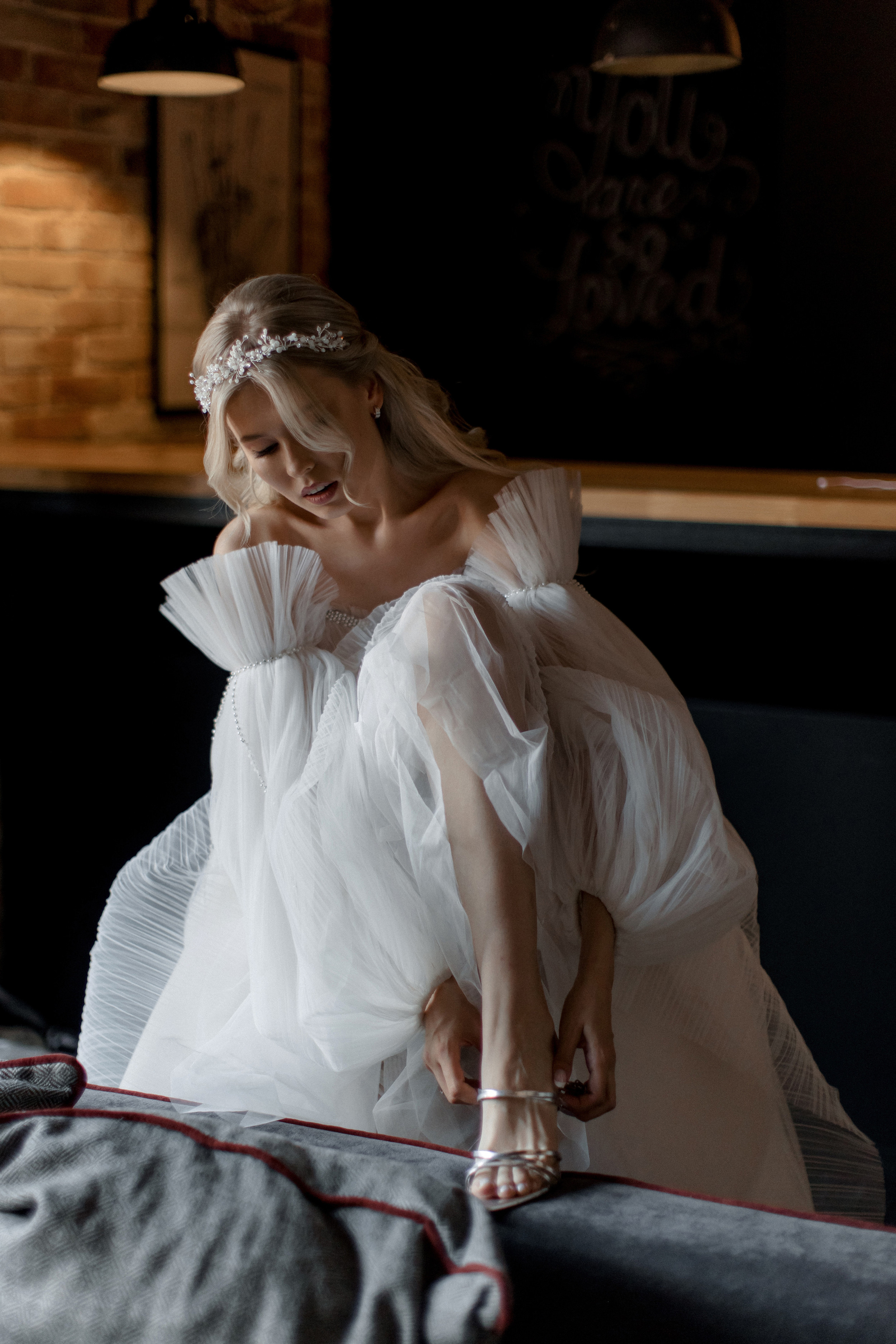Образ невесты. Свадебное платье.