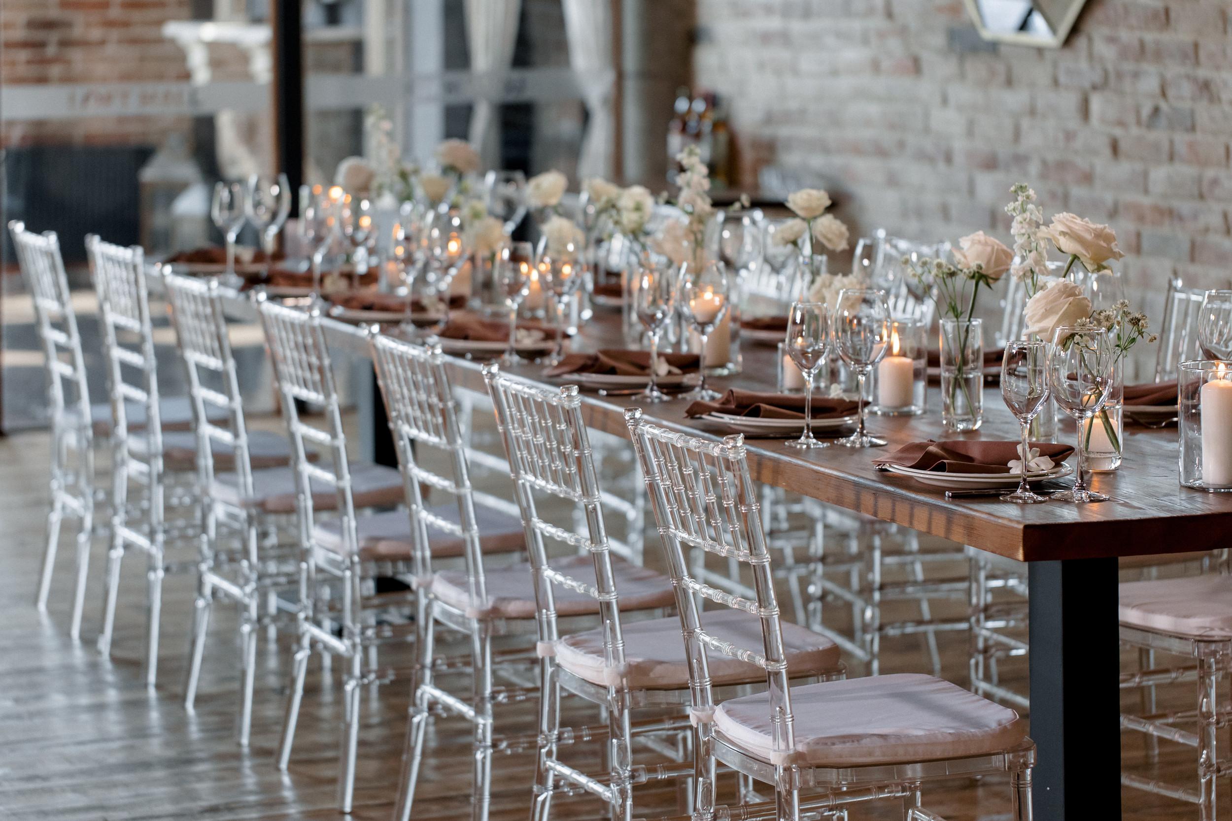 Декор свадьбы. Загородный отель.